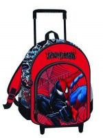 Spiderman Backpack with Trolley