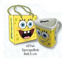 Spongebob Triangular Mug with Gift Bag