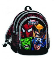 Marvel Heros Backpack  32x43x18cm or 27x31x10cm