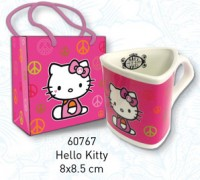 Hello Kitty Triangular Mug with Gift Bag